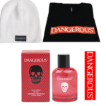 Knit Caps with Dangerous Cologne and Perfume